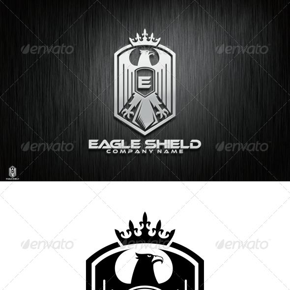 Eagle Shield Logo Template