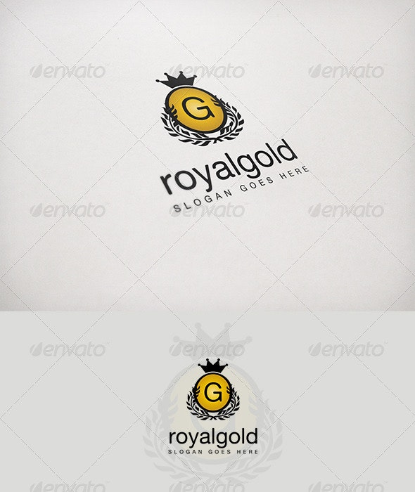 Royalgold - Letters Logo Templates