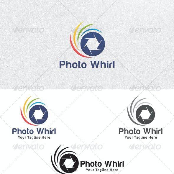 Photo Whirl - Logo Template