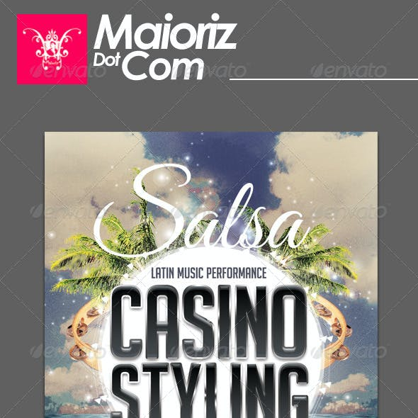 Salsa Casino Flyer