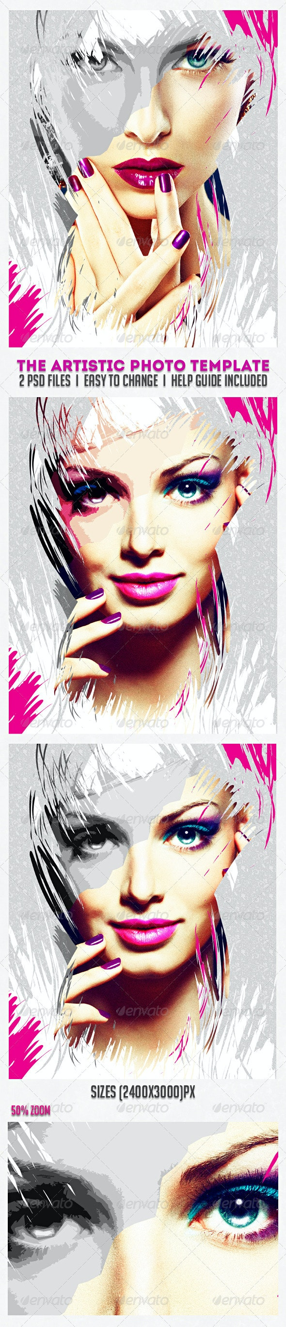 The Artistic Photo Template - Artistic Photo Templates