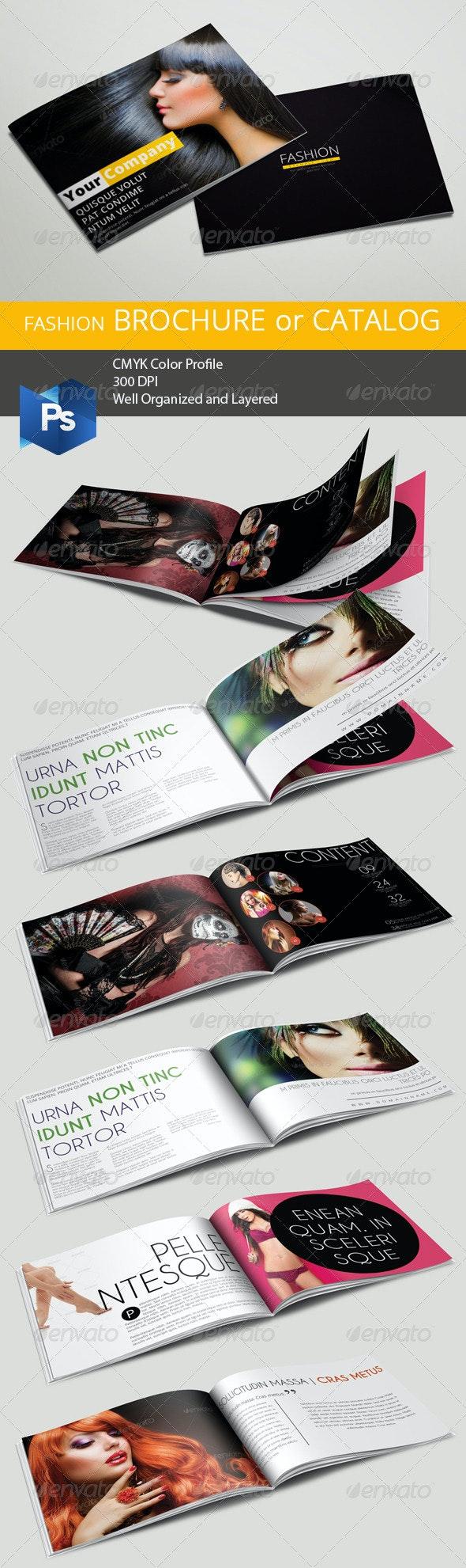 A5 Fashion Brochure/Catalog - Corporate Brochures