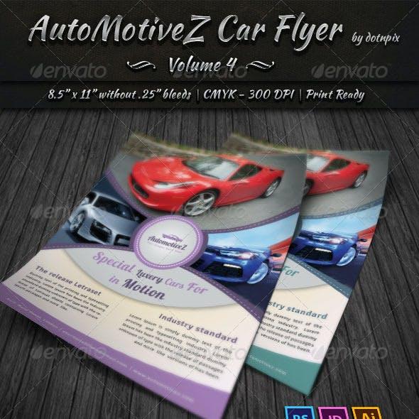 Automobile Business Flyer | Volume 4