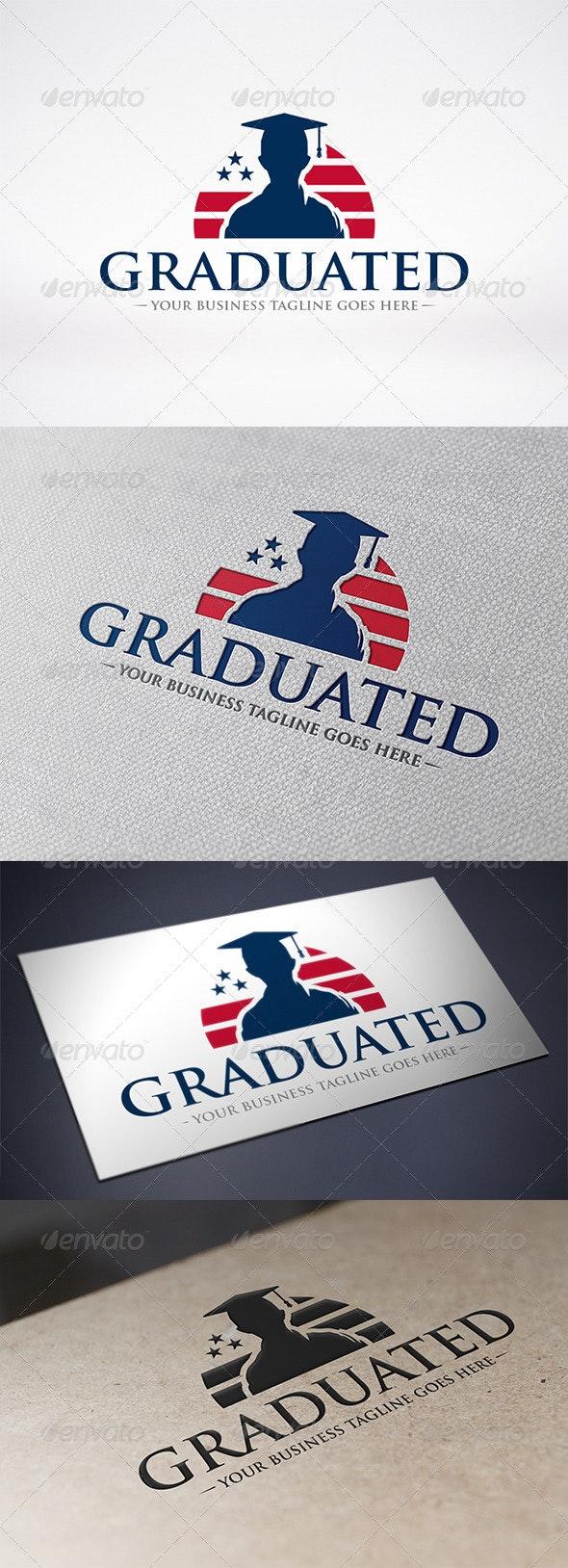 American Graduation Logo Template - Humans Logo Templates