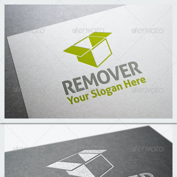 Remover Company Logo Template