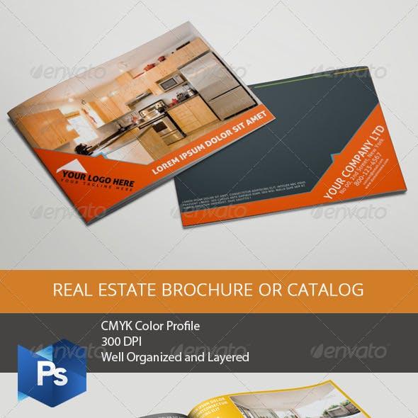 Real Estate Brochure or Catalog
