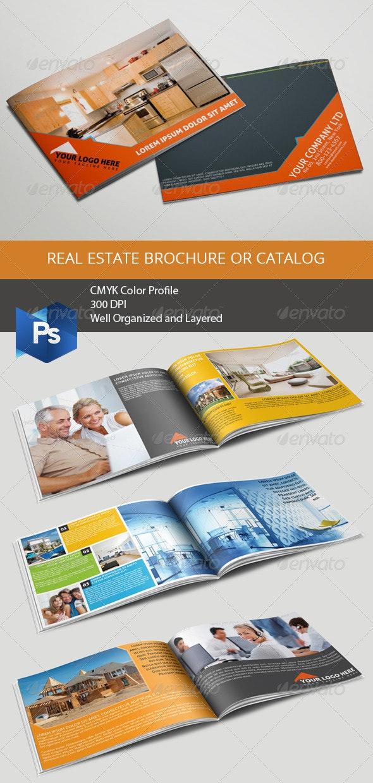 Real Estate Brochure or Catalog - Catalogs Brochures