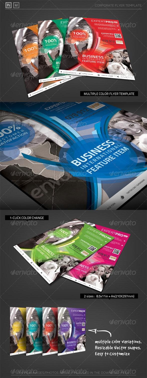 Multipurpose Corporate Flyer - Expert Pro - Corporate Flyers
