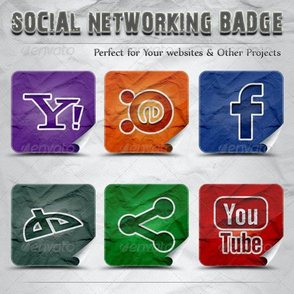 50 Social Networking Badge