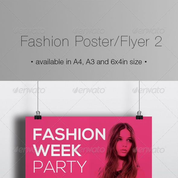 Fashion Poster / Flyer 2