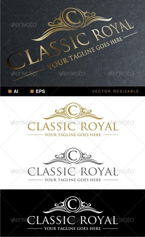Classic Royal Logo - Crests Logo Templates