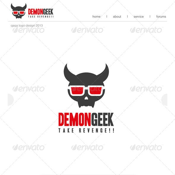 Demon Geek Logo