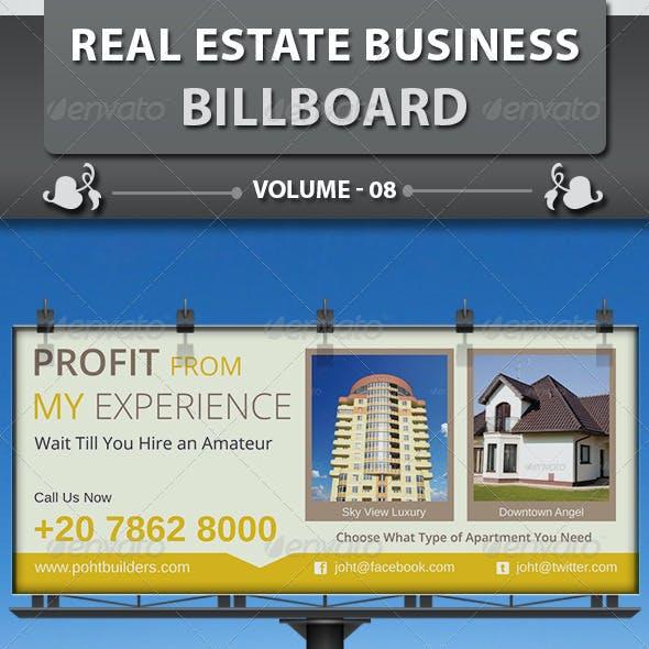 Real Estate Business Billboard | Volume 8