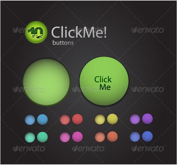 Vector original buttons - Web Elements Vectors
