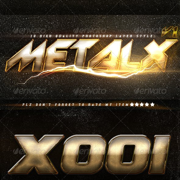 MetalX Layer Styles V1