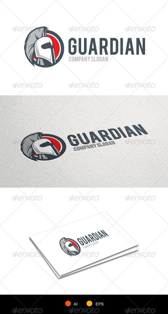 Guardian Knight LogoTemplate - Humans Logo Templates