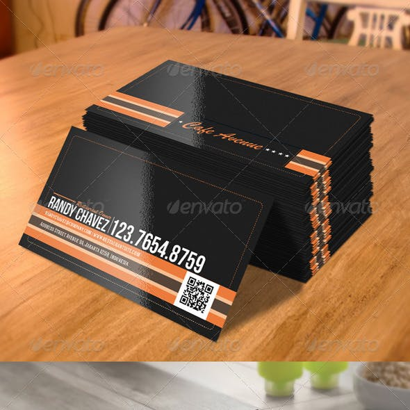 Business Card - Retro Style