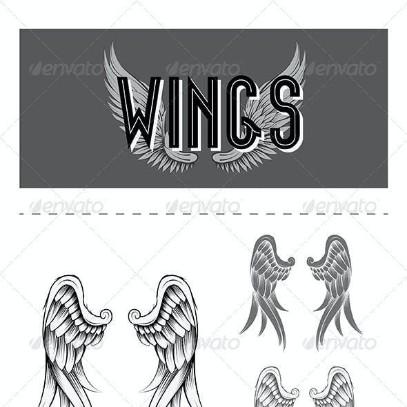 Wings Vector Design