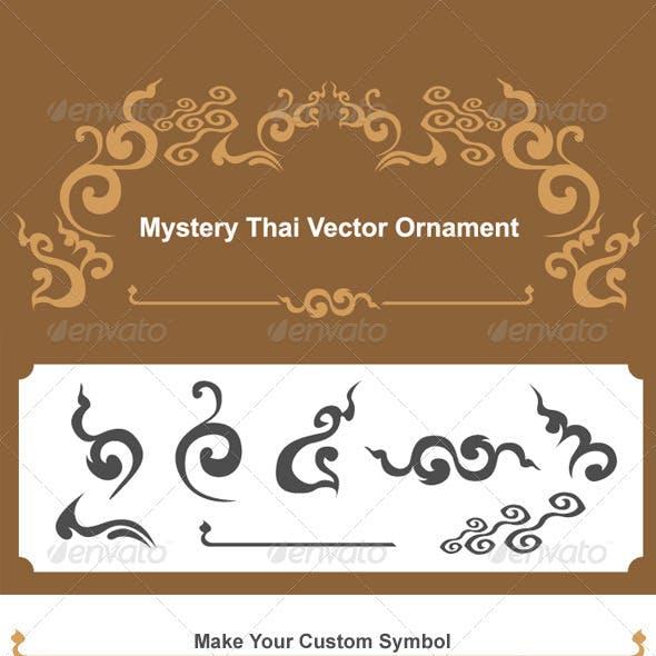 Mystery Thai Vector Ornament
