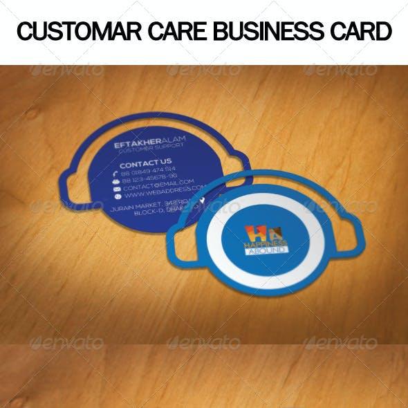 Customar Care Business Card