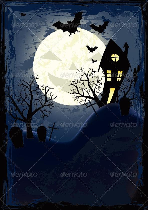 Halloween Poster - Halloween Seasons/Holidays