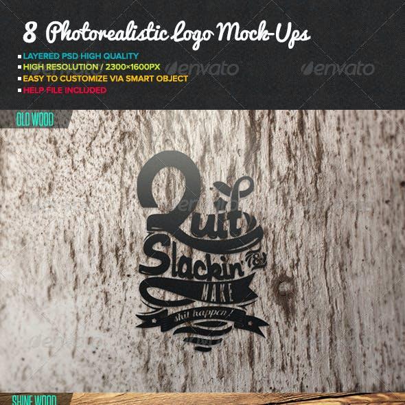 Photorealistic Logo Mock-Ups