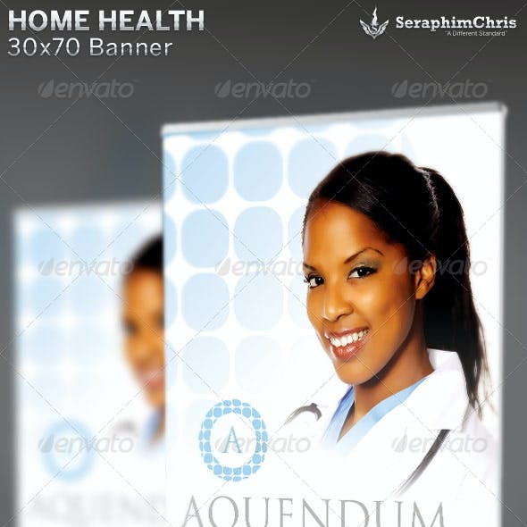 Home Health Banner Template