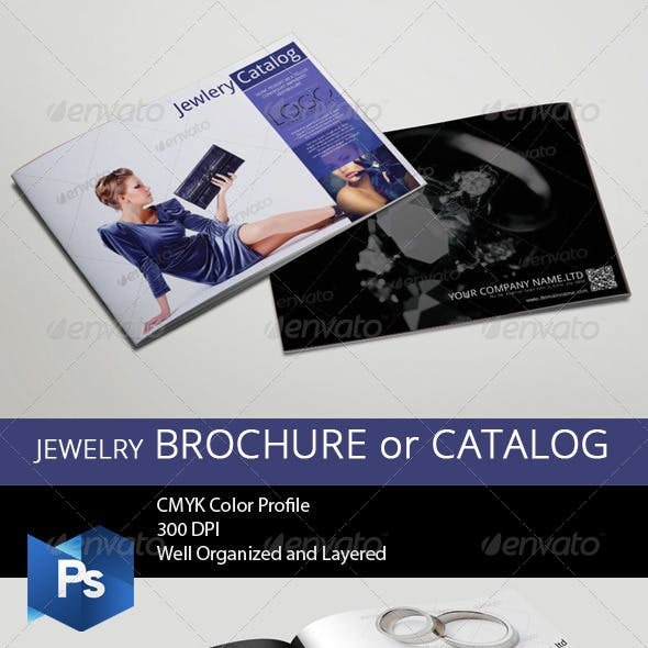 Jewelry Brochure/Catalog