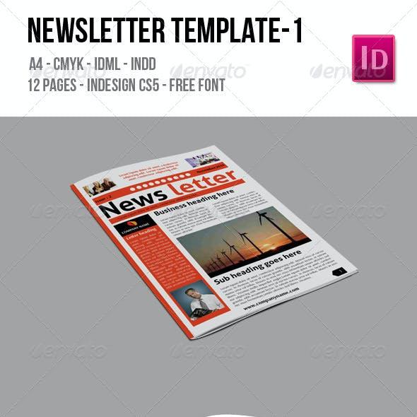 Newsletter Template 1