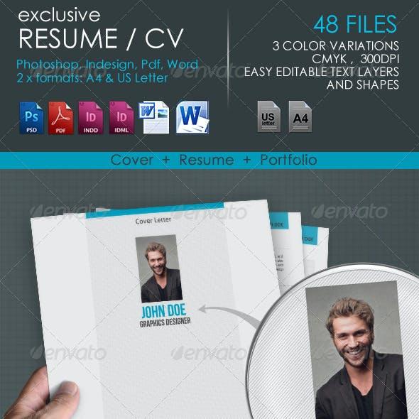 Resume CV exclusive