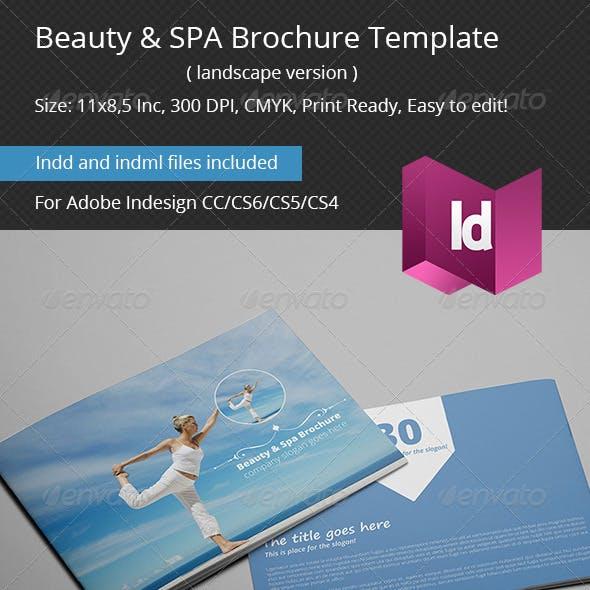 Beauty & SPA Brochure Template