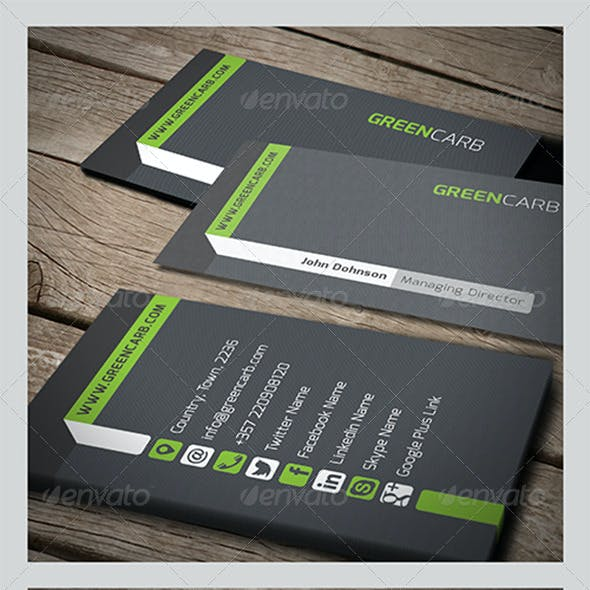 Green Carb Business Card