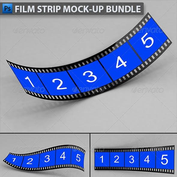 Film Strip Mock-up Bundle