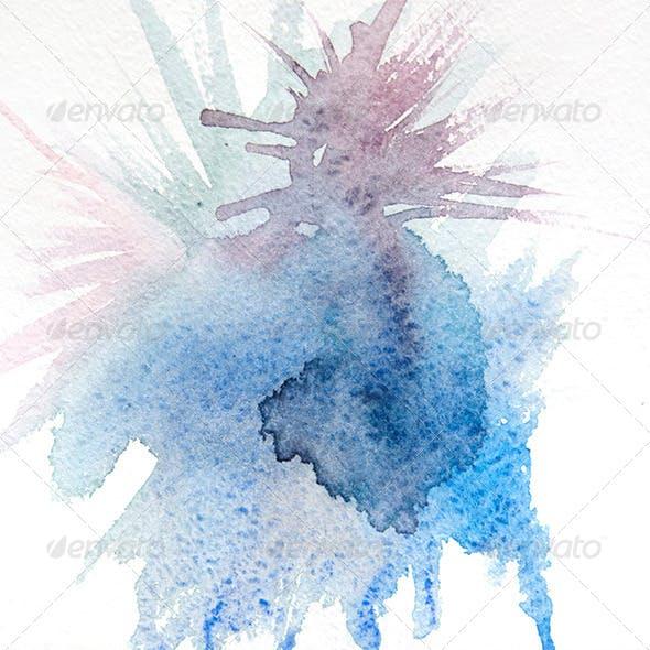 Natural Hand-Made Watercolor Texture