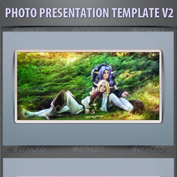 Photo Presentation Template V2