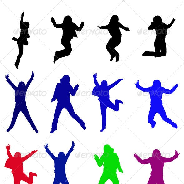 Color Jumping Silhouettes