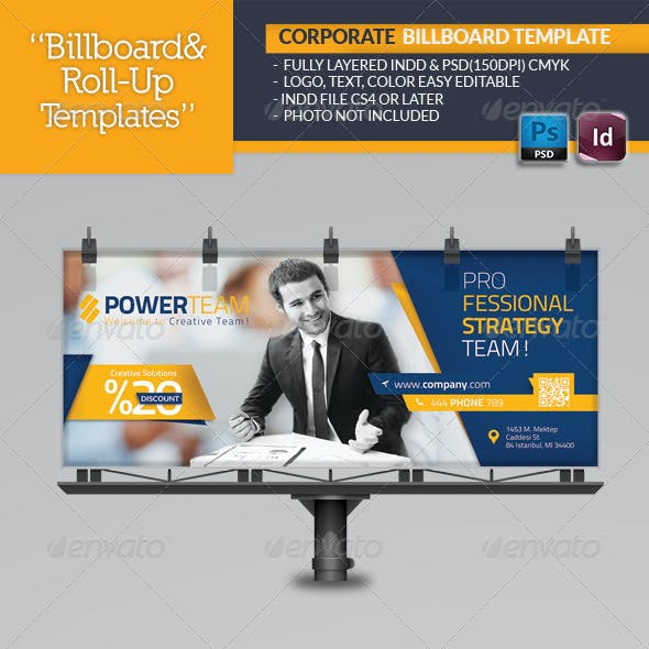 Corporate Billboard Template