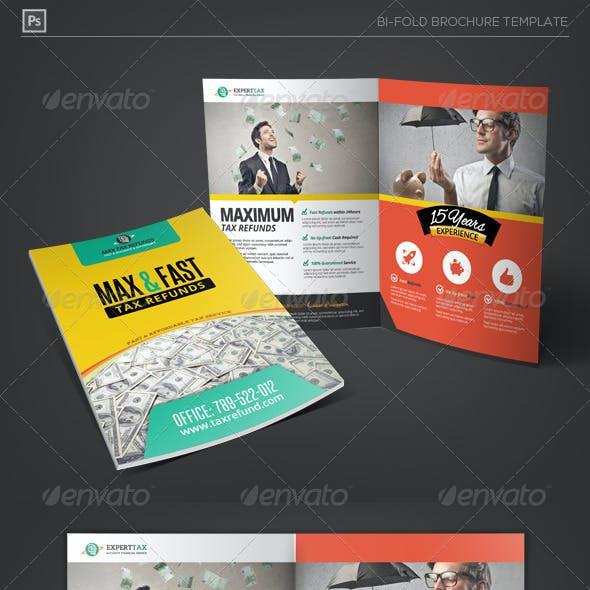 Business Tax Refund Bi-Fold Brochure