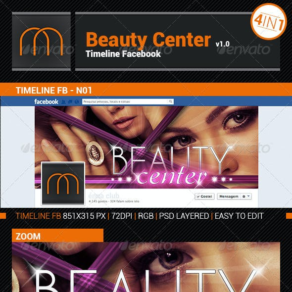 Beauty Center - Timeline Cover FB