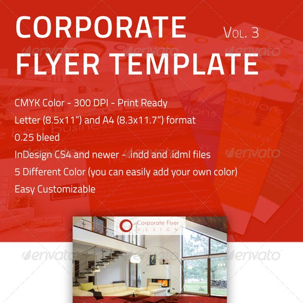 Corporate Flyer - Vol 3