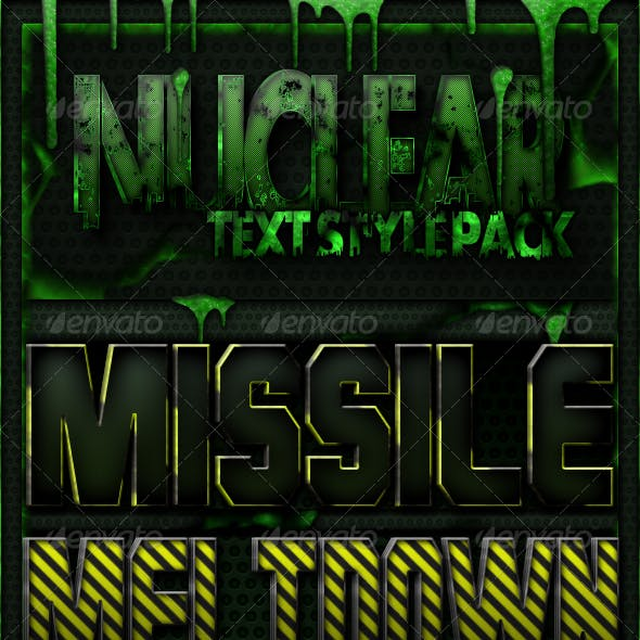10 Nuclear Text Styles