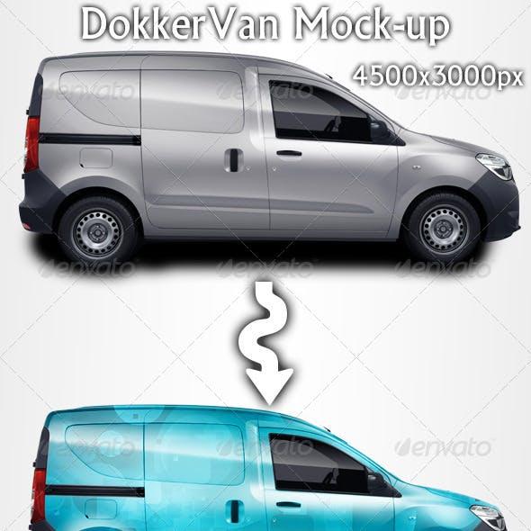 DokkerVan Mock-up