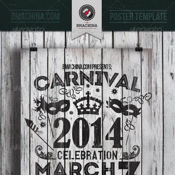 Carnival Celebration Flyer Template