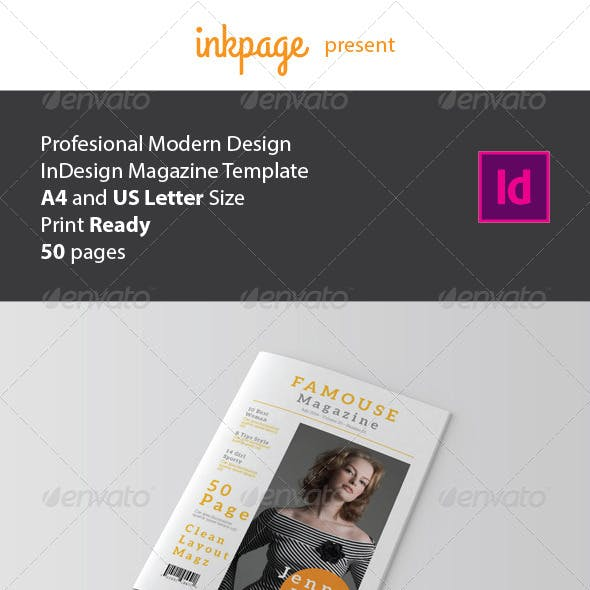 InDesign Magazine Template V2