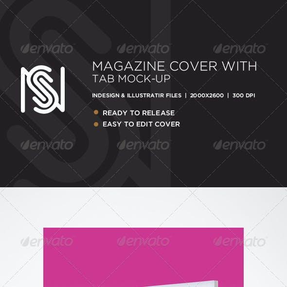 Magazine Cover & Tablet Mockup