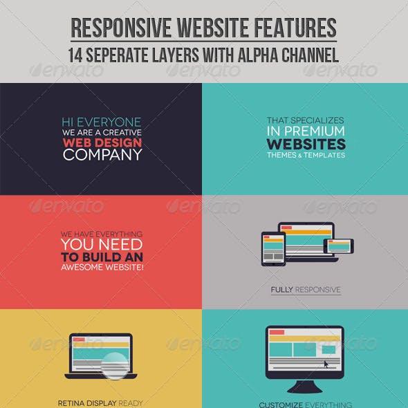 Responsive Website Features