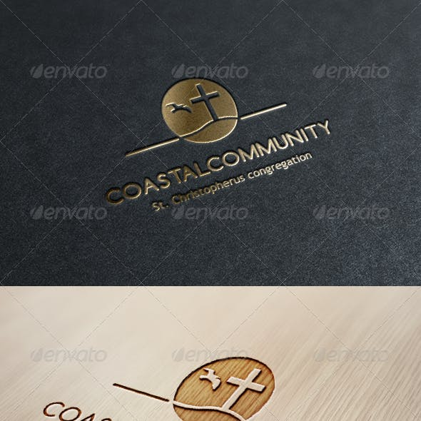 Coastal Community Logo Template
