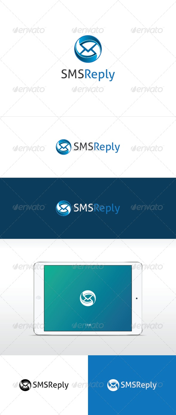 SMS Reply Logo Template - Symbols Logo Templates