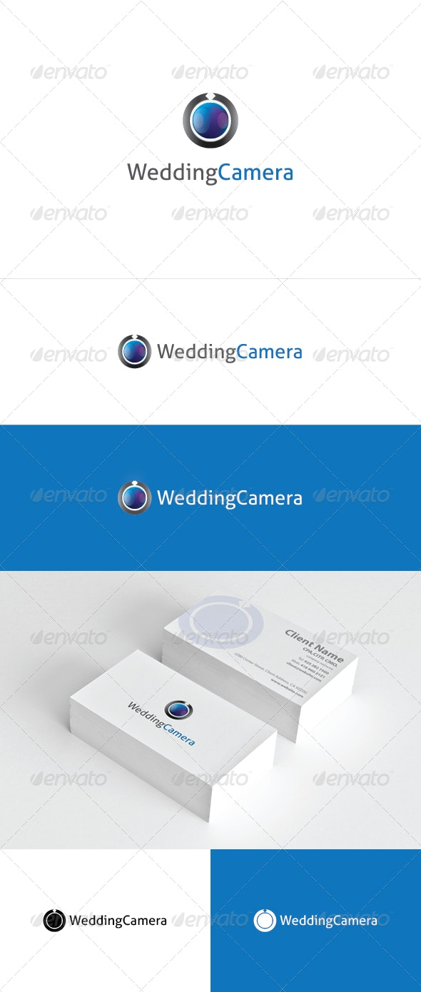 Wedding camera logo template - Objects Logo Templates
