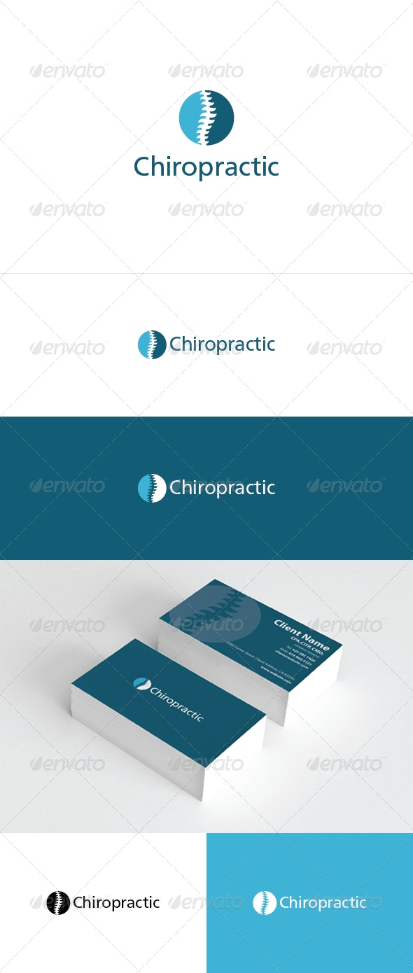 Chiropractic Logo Template - Symbols Logo Templates
